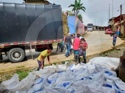 Hay 3.360 desplazados en El Charco, Nariño