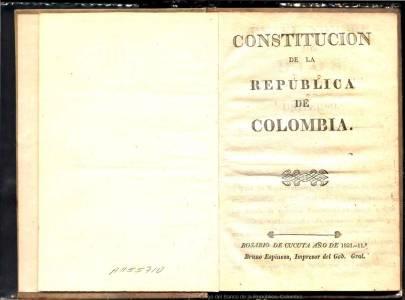 La historia de la Constitución en Colombia 1821-2021