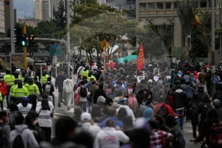 Joven perdió el ojo izquierdo durante disturbios en Bogotá