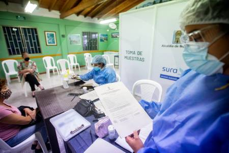 Nuevos casos de coronavirus covid-19 en Colombia