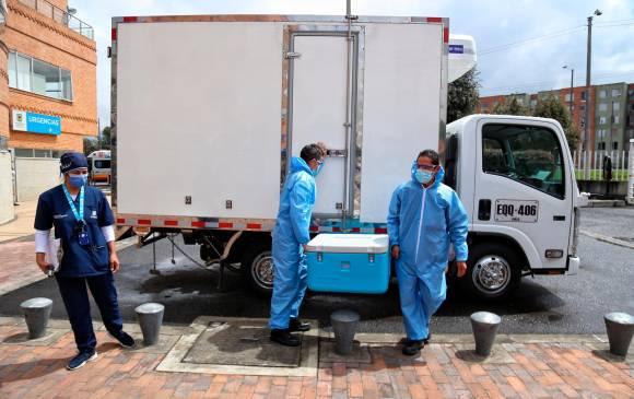 La Fuerza Pública acompañará y apoyará el proceso logístico de vacunación contra la covid-19 en el país. FOTO COLPRENSA