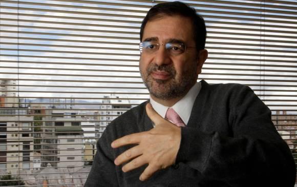 Hernando José Gómez, presidente de Asobancaria, sostuvo que la tecnología biométrica ha generado enormes avances en el proceso de acceso a los servicios financieros. FOTO Colprensa