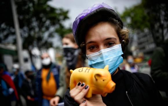 Protestas y marchas del 3 de mayo en Medellín y Antioquia