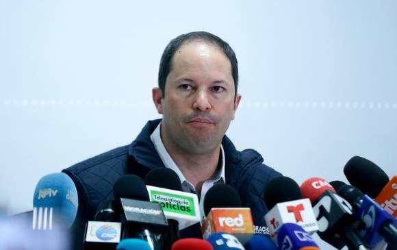 El director general de Migración Colombia, Juan Francisco Espinosa. FOTO COLPRENSA