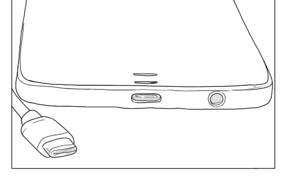 Utilice, preferiblemente, el cargador original de su celular. También puede usar uno que cumpla con los estándares de carga. Consulte el manual.