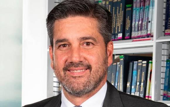 Juan Fernando Montañez, nuevo rector del Politécnico Grancolombiano fue estudiante de Mercadeo y Publicidad, además de Gerente del Centro de Producción de Contenidos en Educación Virtual de la misma institución. FOTO CORTESÍA.