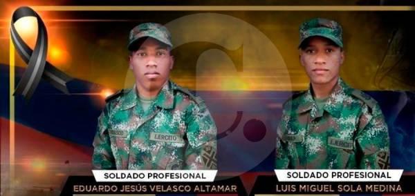Soldados muertos en Tibú por ataque con  explosivos