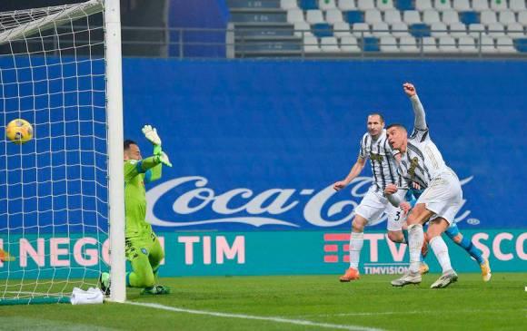 Cristiano Ronaldo fue grabado bailando tras ganar Supercopa italiana