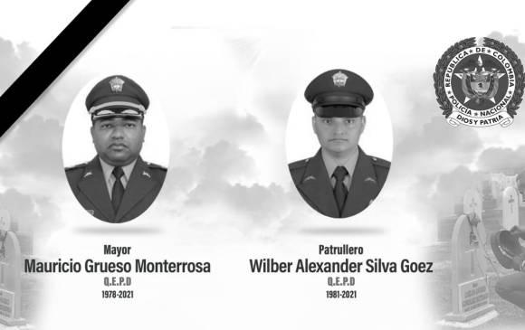 Atentado con explosivos en Frontino deja dos policías muertos y dos heridos