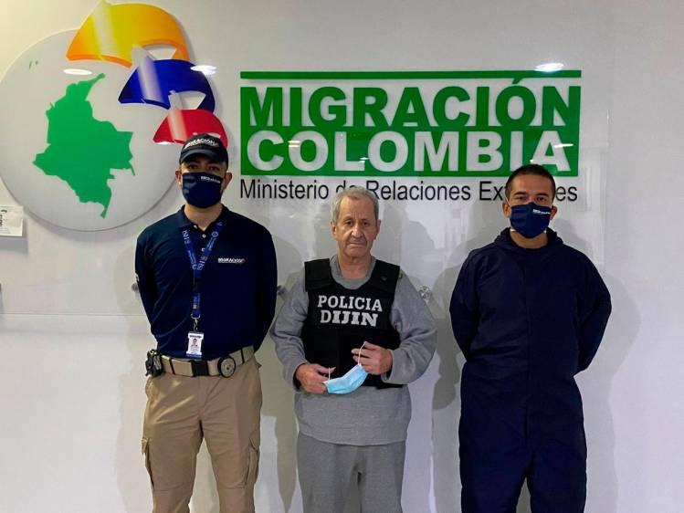 Fotos: Así fue la llegada del exjefe paramilitar Hernán Giraldo