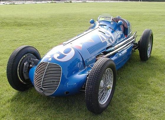 Maserati 8CTF, 1938