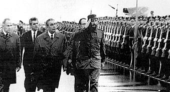 Fidel Castro en la URSS