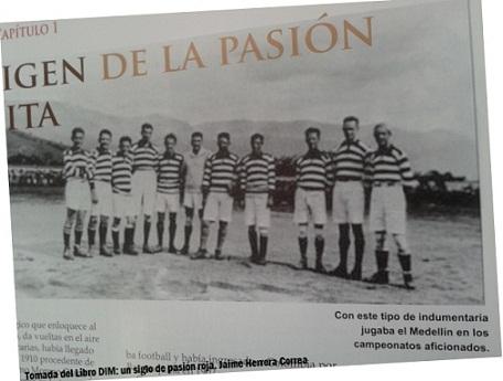 Indumentaria del equipo de fútbol Sporting Medellin