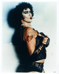 Tim Curry en The rocky horror picture show