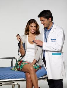 Stephanie Cayo y Ernesto Calzadilla