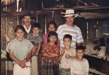 Don Jorge Cartagena y su Familia