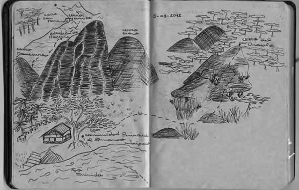 Los Cerros de Mavecure como los vio la exploradora Laura Zamorano