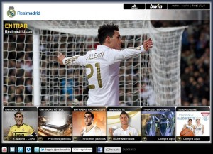 Marketing Digital del Real Madrid fortalezas y oportunidades de su sitio Web