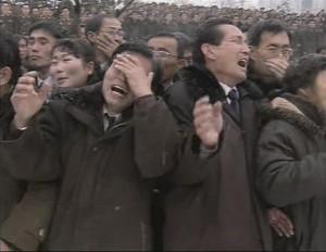 Imágenes como estas fueron divulgadas por las agencias y servicios de prensa desde Corea del Sur luego de la muerte de Kim Jong-il