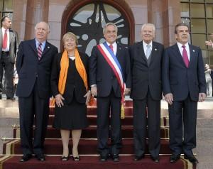 Estos son los 5 presidentes que han sido elegidos después del triunfo del NO a la dictadura en 1988 en Chile. Foto Cortesía