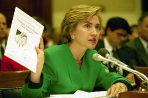Fue la hoy pre candidata a la Presidencia de EEUU Hillary Clinton en la campaña por la presidencia de 1992 la que creo un centro estratégico de ataque y contraataque en la redacción de un diario de Arkansas con el objetivo de atender las coyunturas complejas de dicha campaña. Foto: historyrat.wordpress.com