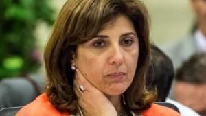 Es compleja la situación actual de la Canciller colombiana, María Angela Holguín. Foto NoticiasRCN.COM