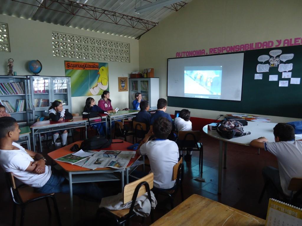 Estudiantes CER La Chuscala