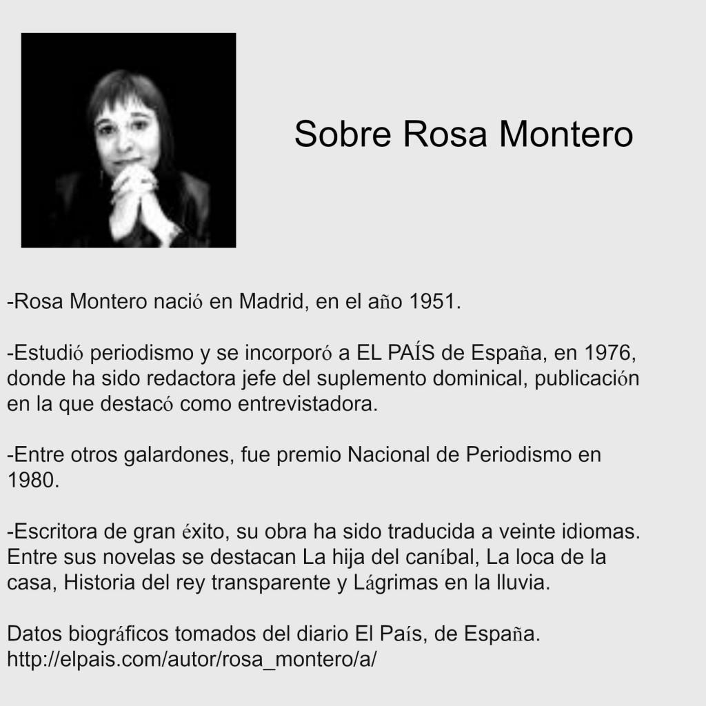 Sobre Rosa Montero