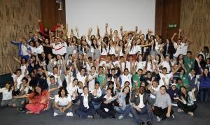 Clausura del Taller de Apoyo a Medios Escolares. Año: 2014