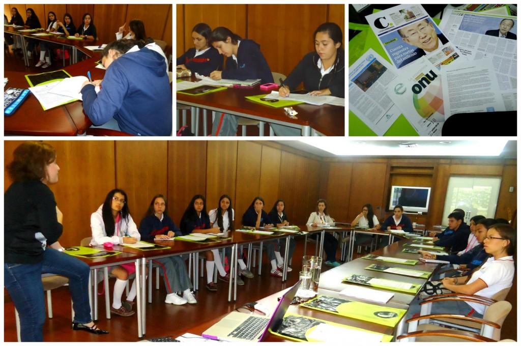 El taller se realizó en las instalaciones de EL COLOMBIANO