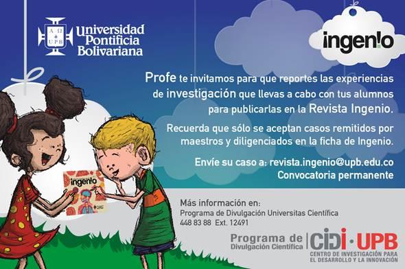 Revista Ingenio, Prensa Escuela