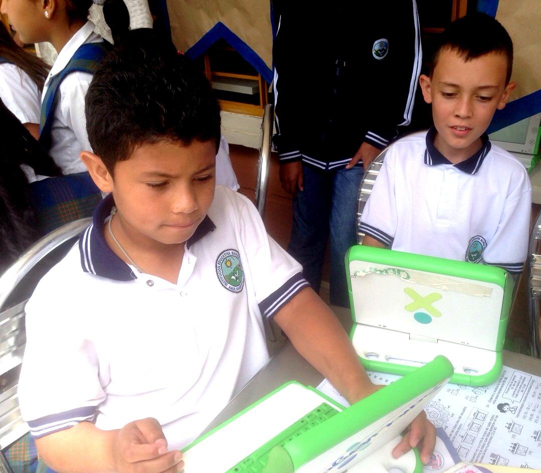 Cada niño cuenta con un computador desde preescolar hasta 11°. 'Leadership' es el nombre de esta iniciativa