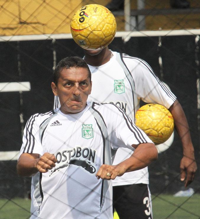 Foto: Hernán Vanegas. El rendimiento de los jugadores tiene que mejorar, en especial del capitán Jairo Patiño.