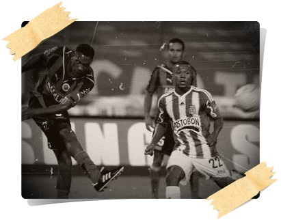 Foto: Edwin Bustamante. Dorlan Pabón le dio el triunfo a Nacional ante el Cúcuta con su gol agónico a los 94 minutos.