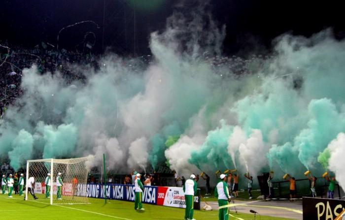 La alegría de la Copa Libertadores regresa esta noche al Atanasio Girardot. FOTO JUAN ANTONIO SÁNCHEZ.