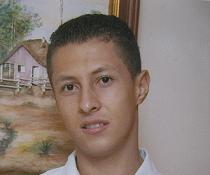 Taxista John Alexánder Escobar