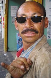 Él era 'Salserín', fallecido en el centro de Medellín.