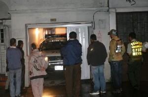 Garaje de la casa de Prado, donde todo sucedió. Foto de José Chavarriaga.