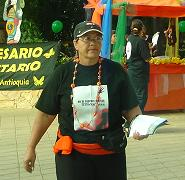 La pacifista y feminista Olga Marina Vergara.