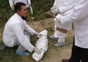Inspección técnica al cadáver del pequeño, en la vereda Tíquiza.