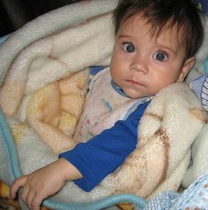 Él era Luis Santiago Lozano, de 11 meses. Foto de Colprensa.