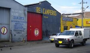En este local de Barrio Triste ocurrió el triple homicidio, en el cual murieron dos  hermanos de Loaiza
