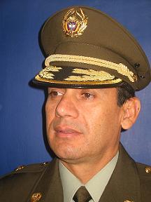 General (r) Marco Antonio Pedreros.