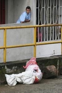 Cadáver hallado en Villahermosa.