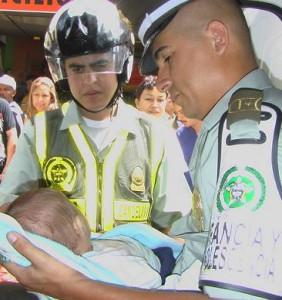 El bebé fue abandonado en el Centro el 3 de enero.