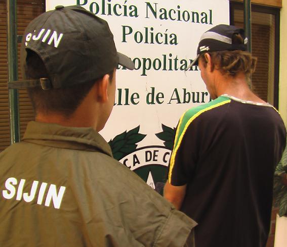 Esta fue la captura de Ignacio Castrillón Arenas, el papá del niño.