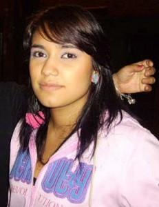 Yudy Castillo, del barrio La Ferrería.