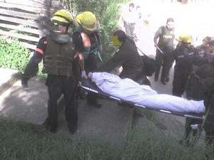 El cadáver encontrado en La García, a la altura del barrio Niquía.