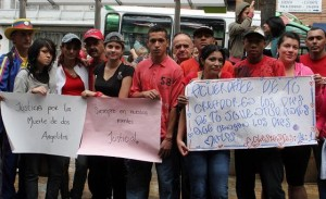 El pasado 24 de junio protestaron en el Centro, porque la justicia poco avanza en el caso de las dos chicas desmembradas y metidas en una caneca.