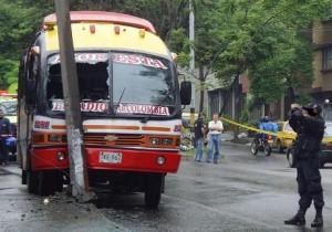 El bus de 'La Roberta' cubría la ruta entre La Floresta y el Centro.